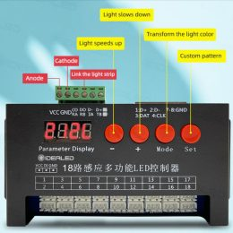 sensörlü pixel led kontrol cihazı